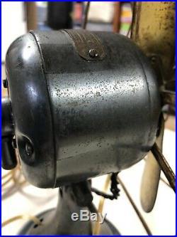 Antique GE All Brass Electric Fan