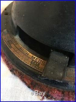Antique GE Brass Blade Fan Working