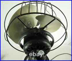 Antique GE Oscillating Desk Fan 1930s 55X165
