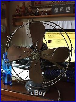 Antique General Electric Alternating Current Fan Motor Number 869582 110 Volt 60