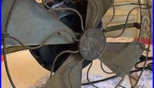 Antique General Electric Fan