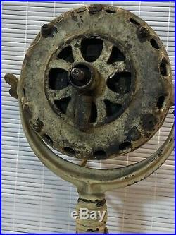 Antique General Electric Fan Needs Restoration