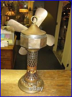 Antique German Stirling Hot Air Fan Non Electric