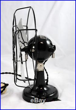 Antique K&D Ball Motor 8 Electric Fan Nice