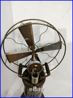 Antique Kerosene Operated Steam Fan Decorative Working Vintage Museum 26 Inches