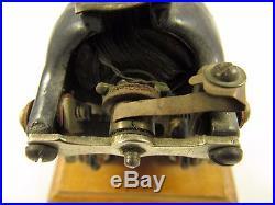 Antique Knapp Bi Polar Toy Little Hustler 3 Cast Iron Electric Motor Bipolar