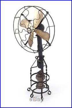 Antique Lake Breeze Model B Floor Model Hot Air Fan Sterling Engine