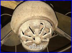 Antique Lake Breeze Motor Floor Model B Kerosene Stirling Engine Hot Air Fan