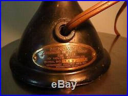 Antique MENOMINEE Ball Clam-shell Motor Fan 8 Part NO BLADE, CAGE or BADGE 1918