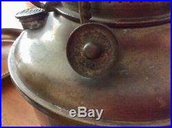 Antique MILLER JUNO LAMP PARTS Ready for Electric, Urn Base, Winged Cherubs, Fans