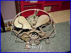 Antique Marelli-Universal-Fan. Brass blade. 10 Inch