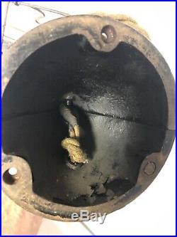 Antique Menominee Clamshell Electric Fan