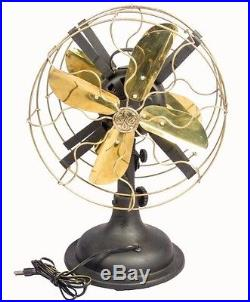 Antique Pedestral Marelli Partners Electric Fan With Working Mechanism HB 086
