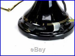 Antique Professionally Restored 16 FWEW Kidney Oscillator Desk Fan