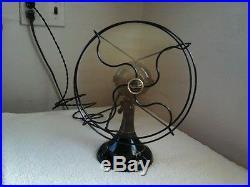 Antique Restored 10 AC-DC Northwind Oscillator Fan