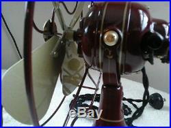 Antique Restored 8 AC-DC Northwind Fan