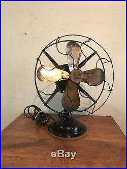 Antique Robbins Myers 12 Electric Fan BB Oscillating