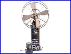 Antique Style Old Mechanism 1920's Jot's Patent Radio Kerosene Fan Fan's HB 01
