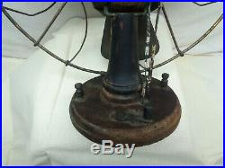 Antique Very Old Unusual Battery Fan by The Portable Battery Co