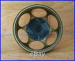 Antique Vintage 6 SOCKET 6 HOLE Benjamin Cluster Electric Fan Lamp