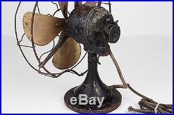 Antique Vintage Electric 4pc Fan Lot, GE, Century, Emerson Electric, R&M Banner