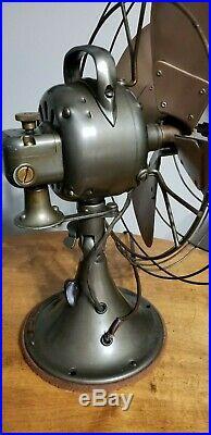 Antique Vintage Ge Vortalex Fan Outstanding Original Condition Works Perfect @@
