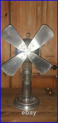 Antique Vintage Hot Air Stirling Engine Fan not electric