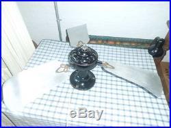 Antique Vintage Marelli Ceilling Electric Fan Revised