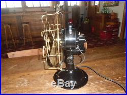 Antique Vintage Marelli Electric Fan 11 inches
