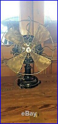 Antique Vintage Marelli Electric Fan pancake motor