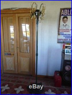 Antique Vintage Pedestal Marelli Partners Electric Fan revised 360°