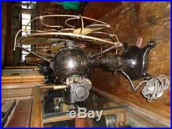Antique Vintage Tigre Hurricane DC Electric Fan 12 in