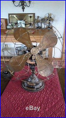 Antique Vintage Verity´s Orbit Electric Fan 110 v Revised made in England