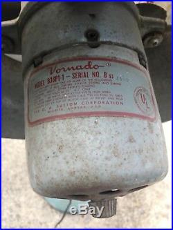 Antique Vornado upright Fan Model B38p1-1