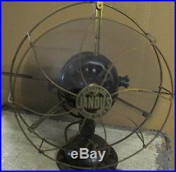Antique/Vtg Early JANDUS R1333 R 1333 Wire Mount 12 Electric Table Fan J382