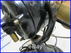 Antique WESTINGHOUSE Brass Fan Model 60677 Pat Dec 89-93