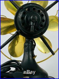 Antique Westinghouse Fan Model 315734A Brass Blade Fan 16