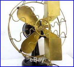 Antique Westinghouse Vane Oscillator Fan 12´´ Blade Original Condition & Working