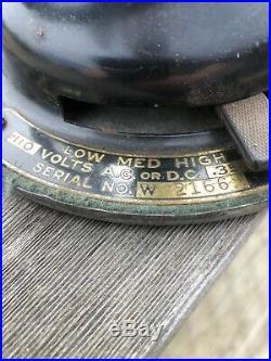 Antique brass blade fans Winchester Fan 10 Inch