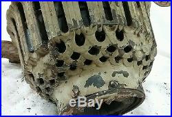 Antique cast iron hunter tuerk type B ceiling fan vintage part or restore