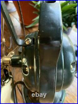 Antique electric Fan GE Brass Bell Oscillator