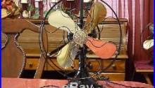 Antique general Electric 12 Fan Working