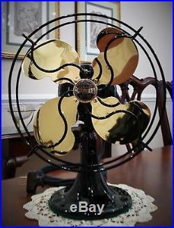 Art Deco Emerson B Junior Antique Oscillating Electric Fan