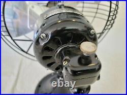 Beautiful Antique 12 3-Blade GE General Electric Fan (REFURBISHED & Working)