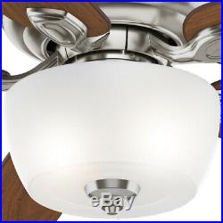 Casablanca Utopian Antique 52 Inch Indoor Ceiling Fan with Light & Wall Control