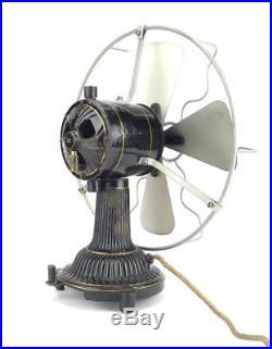 Circa 1900 Dr. MAX LEVY 10 Desk Fan Antique Electric
