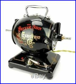 Early Holtzer Cabot Iron Electric Utility Motor Restored Hand Painted Antique