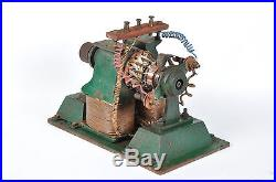 Early antique electric bipolar motor