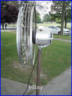 Edgar Ward Art Deco Zephyr Antique Electric Fan