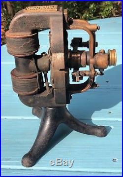 Edison DC Antique Fan Motor 1894 Tesla Era Electric Industrial